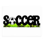 Soccer (On Grass) Post Card