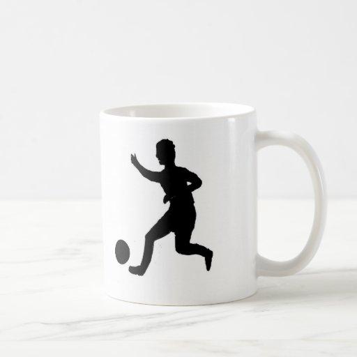 Soccer or football classic white coffee mug