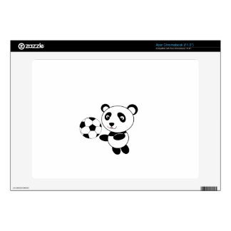 Soccer panda acer chromebook decals