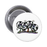 Soccer Party Pinback Buttons