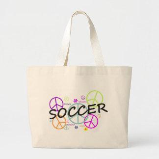 Soccer Peace Canvas Bag