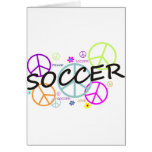 Soccer Peace Greeting Card