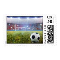 Soccer penalty kick postage