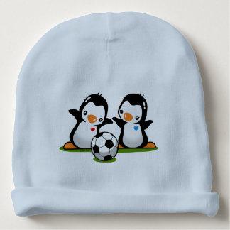 Soccer Penguins Baby Beanie