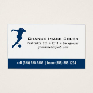 Soccer - Personal Business Card