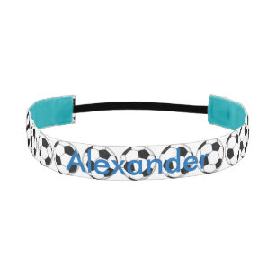 Soccer Personalized Athletic Headband