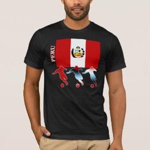 Soccer Peru Dark T-Shirt