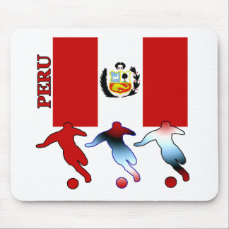 Soccer Peru Mouse Pad