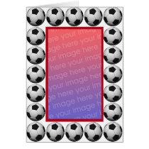Soccer photo Card