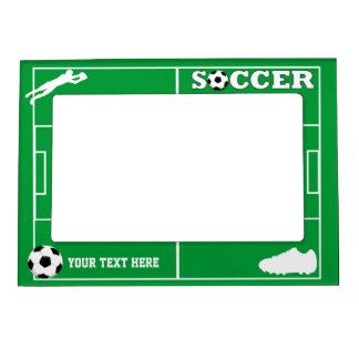 Soccer Photo Frame Magnet