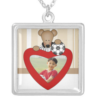 Soccer Photo Necklace