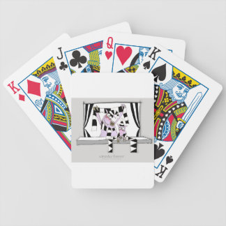 soccer pig saturday forever bicycle playing cards