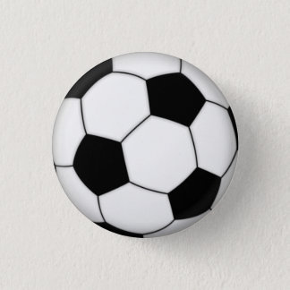 Soccer Pin-on Button