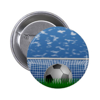 Soccer Pinback Button