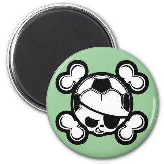 Soccer Pirate -kids Magnet