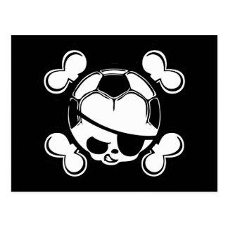 Soccer Pirate -kids Postcard