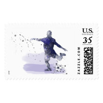 SOCCER PLAYER 2 - US Stamps