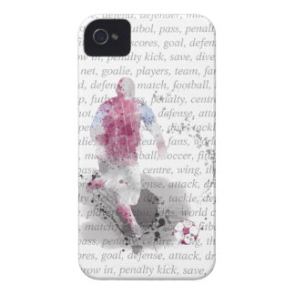 SOCCER PLAYER 4 - iPhone 4 case