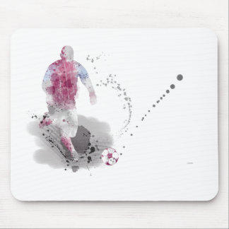 SOCCER PLAYER 4 MOUSE PAD