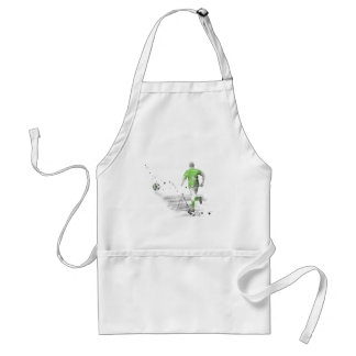 SOCCER PLAYER 5 ADULT APRON