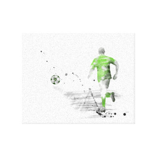 SOCCER PLAYER 5 CANVAS PRINT