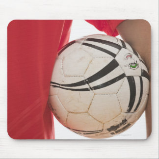 Soccer player 5 mouse pad