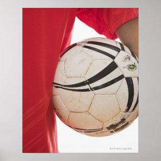 Soccer player 5 poster