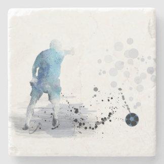 SOCCER PLAYER 6 - Stone Coaster
