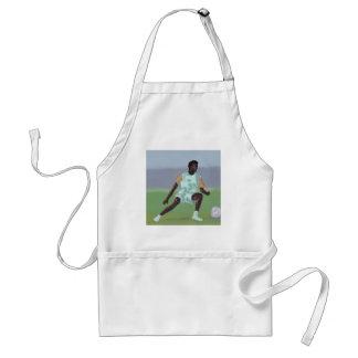 Soccer Player, Apron