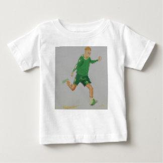 Soccer Player Art Baby T-Shirt