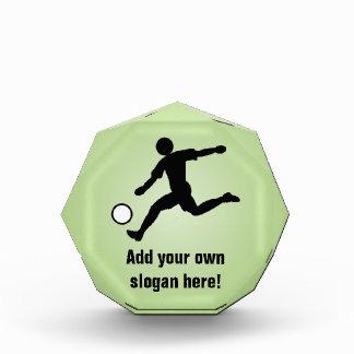 Soccer Player - Association Football - Customized Acrylic Award
