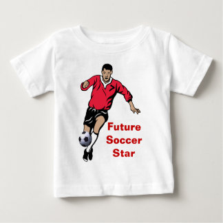 Soccer Player Baby T-Shirt