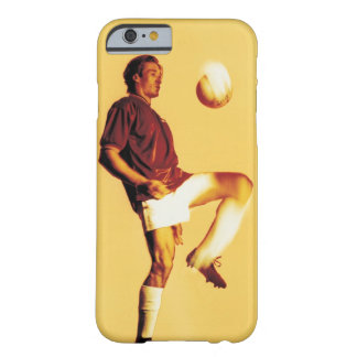 soccer player bouncing ball off knee barely there iPhone 6 case