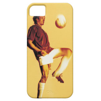 soccer player bouncing ball off knee iPhone SE/5/5s case