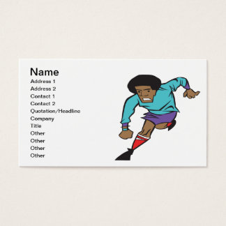Soccer Player Business Card