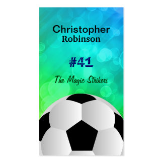 Soccer Player Business cards