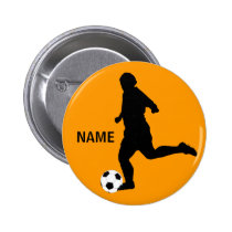 SOCCER player Button
