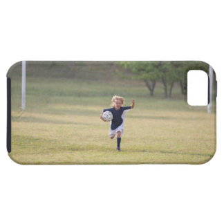 Soccer player cheering and yelling iPhone SE/5/5s case