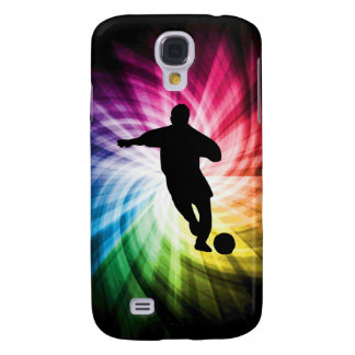 Soccer Player; colorful Samsung Galaxy S4 Covers