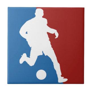 Soccer Player custom ceramic tiles