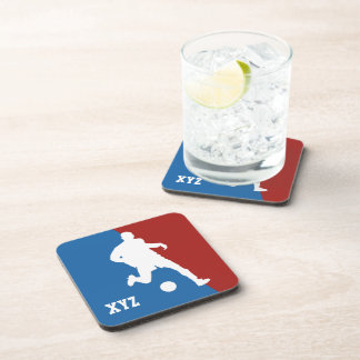 Soccer Player custom coasters