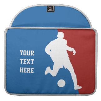 Soccer Player custom MacBook sleeves MacBook Pro Sleeves