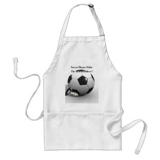 Soccer_Player_Dribble,_Funny_ Adult Apron