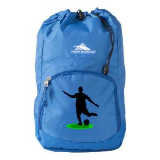 Soccer player high sierra backpack