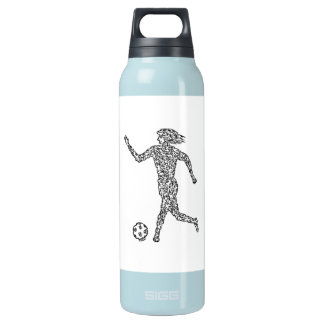 'SOCCER PLAYER' INSULATED WATER BOTTLE