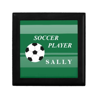 Soccer Player Jewelry Box