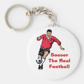 Soccer Player Key Chains