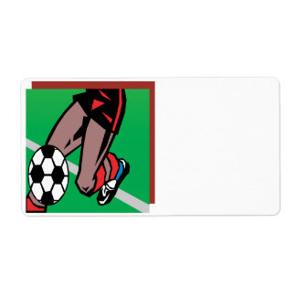 Soccer Player Label