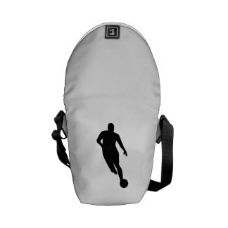 Soccer Player Courier Bag