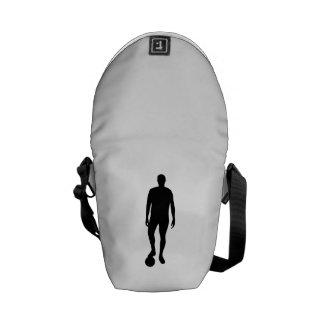Soccer Player Messenger Bags